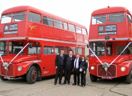 Routemaster driver team